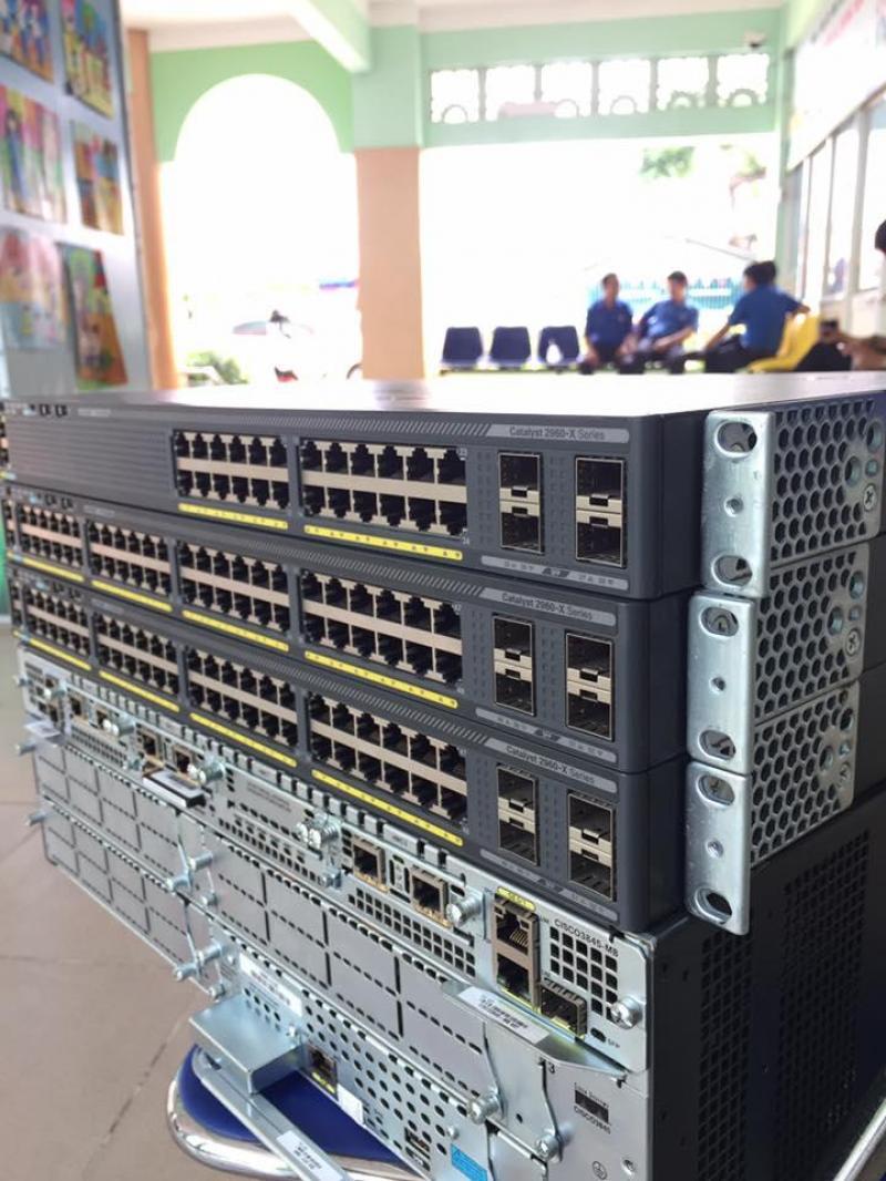 Thu mua thiết bị Cisco đã qua sử dụng + BH 12