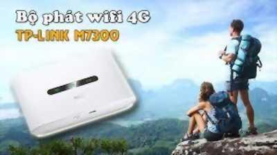 Router Wifi 4G tp-link M7300 chính hãng100%