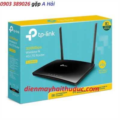 Thiết bị TP-Link TP-MR6400 phát wifi định tuyến và sim 4G