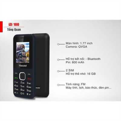 Điện thoại masstel zin tem 100%
