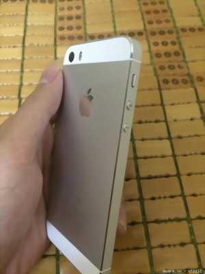 iPhone 5s 16 màu vàng bao test các kiểu