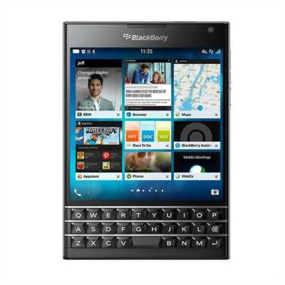 Blackberry passport bạc fullbox like new .chất!