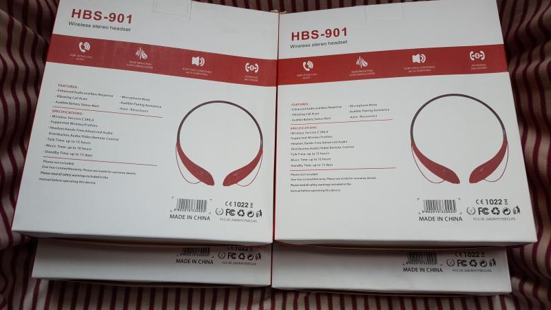 Tai nghe Bluetooth HBS-901  tai nghe bluetooth ko dây