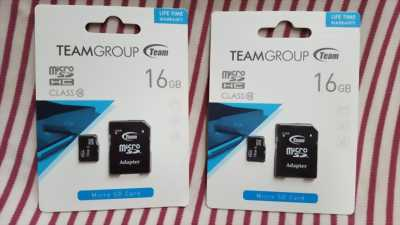 Thẻ Nhớ Micro SDHC Team Group 16GB Class 10