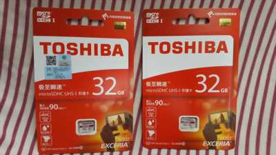 Thẻ nhớ TOSHIBA Micro SD 32Gb Class 10