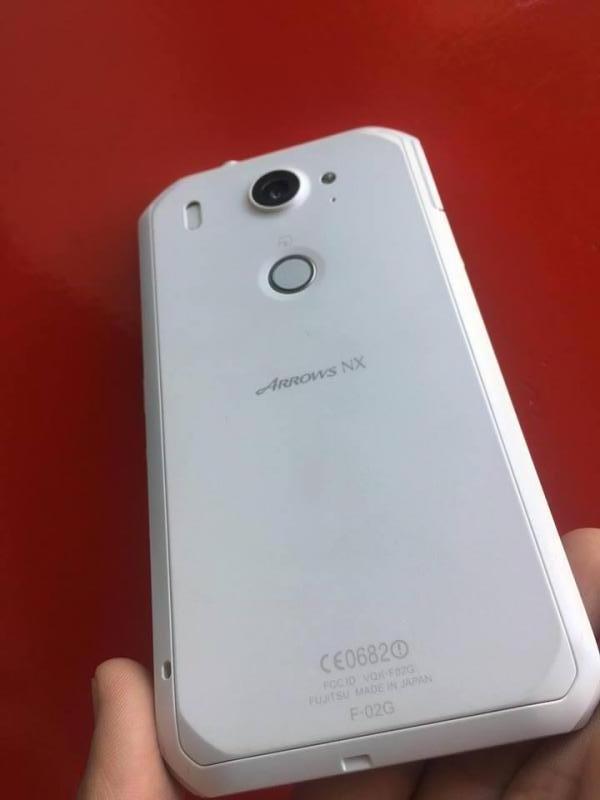 Điện thoại Fujitsu F02G xách tay Nhật, nguyên zin có tiếng việt
