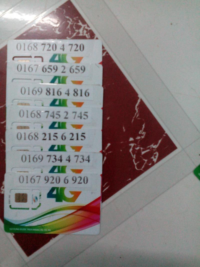 Sim trả trước 11 Số Viettel, giá bán hiện tại