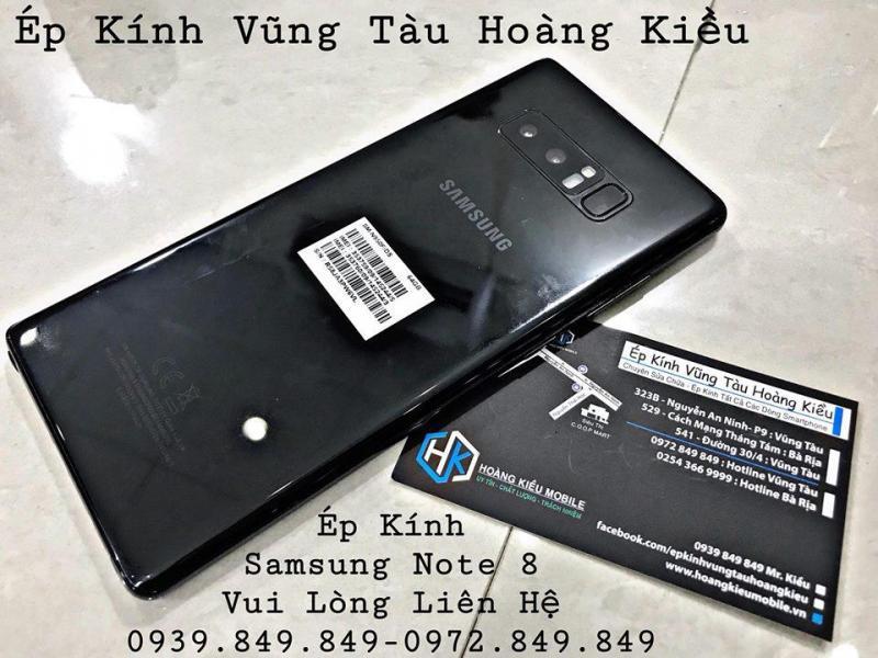 Ép Kính nam thần Samsung Note 8 - Hoàng Kiều Mobile