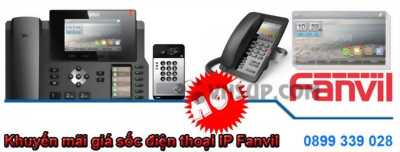 Khuyến mãi giá sốc điện thoại IP Fanvil