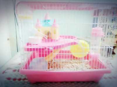 Chuồng hamster còn mới 90%