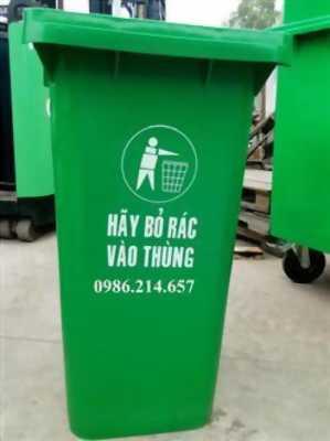 Phân phối thùng rác sỉ lẻ giá rẻ đắk lắk- thùng rác 120 lít 240 lít 660 lít- 0911.082.000