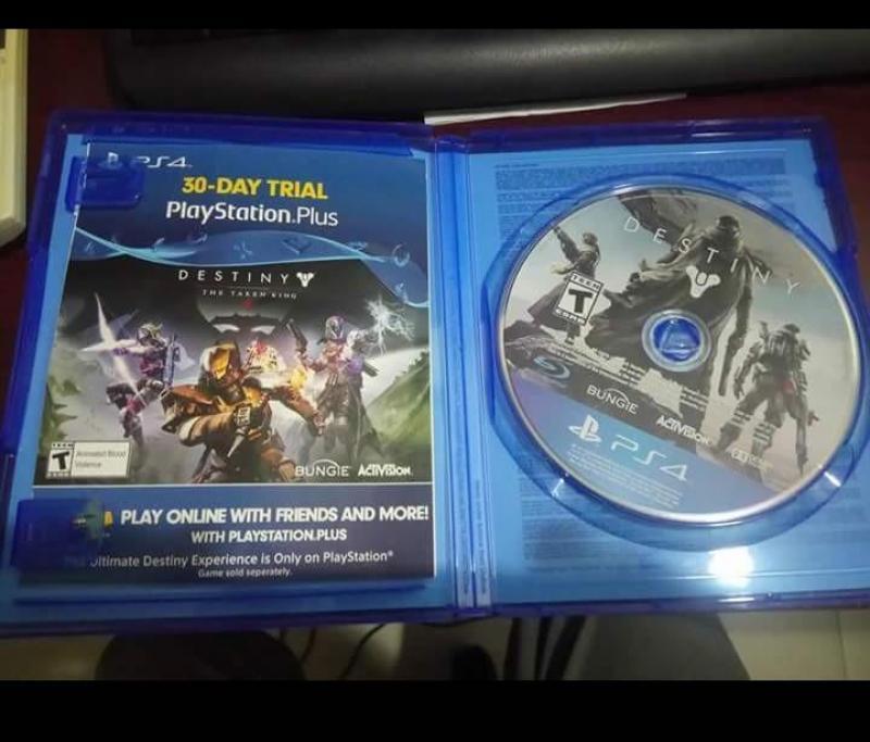 Bán game PS4 Destiny kèm psn plus 1tháng
