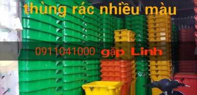 Quận 12: Bán thùng rác nhựa hdpe120L, 240L,.. chính hãng giá tốt