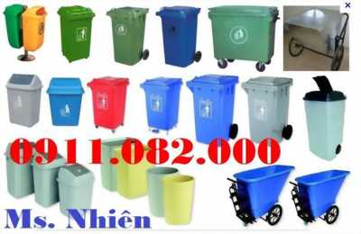 Công ty Chuyên cung cấp giá sỉ thùng rác 120 lít 240 lít giá rẻ toàn quốc- lh 0911.082.000- Nhiên
