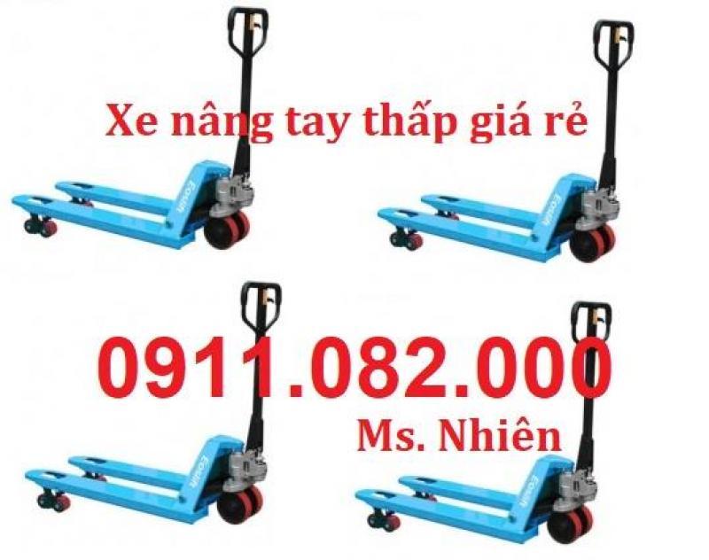 Đại lý cung cấp xe nâng tay thấp 3 tấn giá sỉ tại tiền giang 0911.082.000