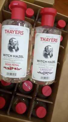Nước hoa hồng Thayers xách tay từ Mỹ