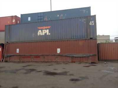 Thanh lý Container 45ft cắt nóc, mở cửa vách
