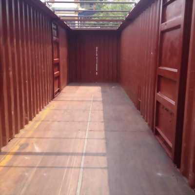 Container 40 cắt nóc, mở cửa vách