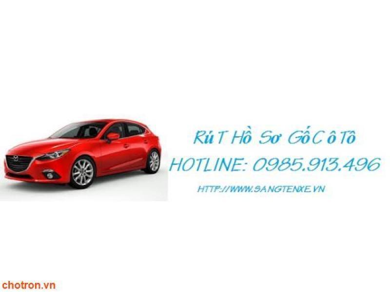 Dịch vụ làm lại đăng ký xe máy - ô tô tại Hà Nội