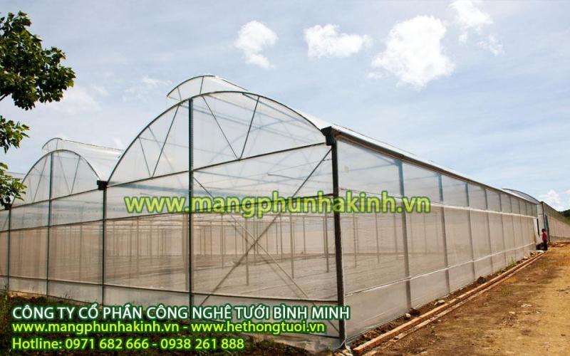 nhà lưới nông nghiệp, nhà lưới trồng rau sạch,nhà lưới tại hà nội,vật tư nhà lưới, nẹp nhà lưới