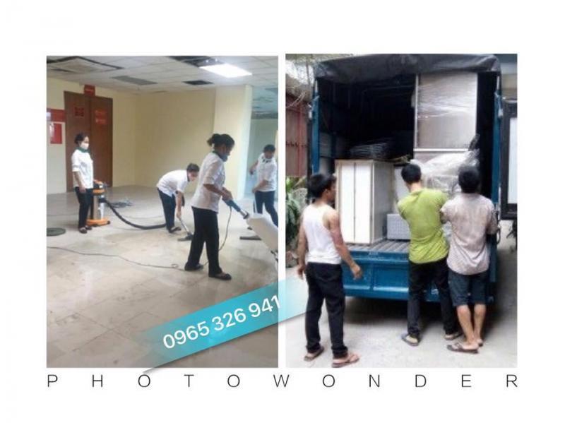 Dịch vụ chuyển nhà $ vệ sinh công nghiệp trọn gói