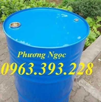 Thùng phuy sắt nắp kín 220L thùng phuy đựng hóa chất thùng phuy