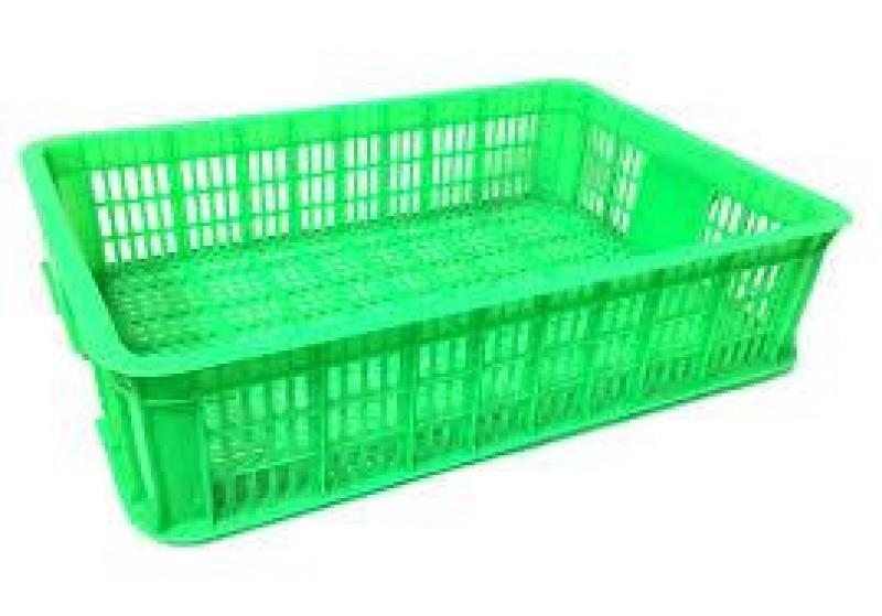 Rổ nhựa công nghiệp, sóng nhựa đan