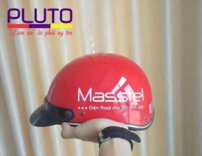Xưởng sản xuất nón bảo hiểm in logo