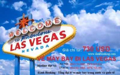 Đặt vé máy bay đi Las Vegas