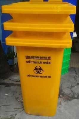 Thùng rác 120 lít, thùng rác nhựa 120 lít, thùng