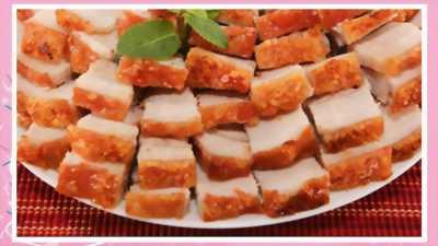 Thịt heo quay - thơm ngon - nhà làm