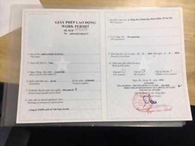 Làm giấy phép lao động cho người nước ngoài tại Việt Nam