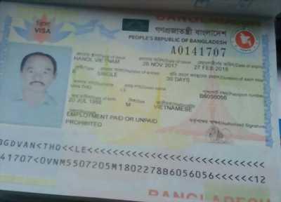 Làm Visa đi Bangladesh