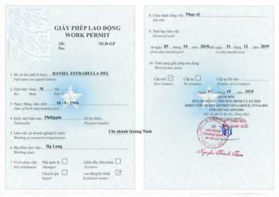 Dịch vụ làm work permit cho người quốc tịch Châu Âu