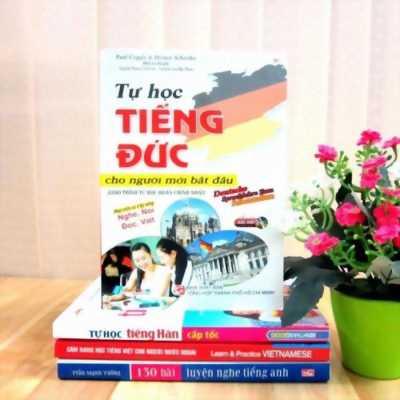 Tự học tiếng Đức cho người mới bắt đầu