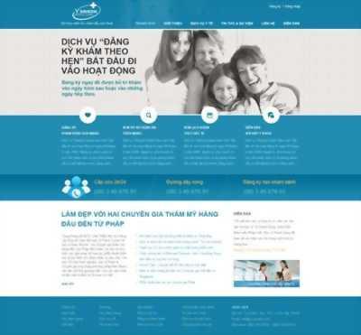 Dịch vụ thiết kế website nha khoa, làm răng sứ
