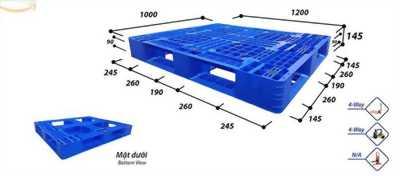 Nơi cung cấp pallet 1200*1000*145mm Phú Hòa an
