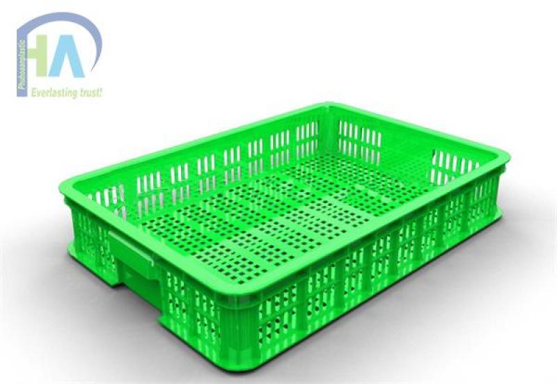Nơi cung cấp rổ nhựa rỗng HA010 - Phú Hòa an