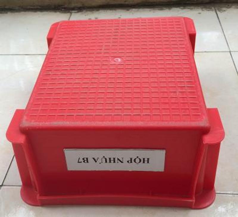 Bộ Khay nhựa B7 , sóng nhựa đặc B7 - Phú Hòa an