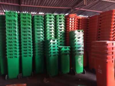 PP thùng rác nhựa, thùng rác y tế, thùng rác 120 lít