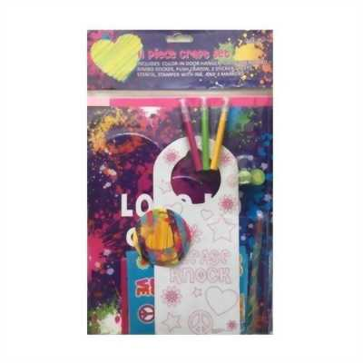 Bộ dụng cụ thủ công cho bé Piece Craft Set KN 4024