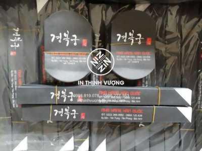 In bao đũa đẹp cho nhà hàng tại Hà Nội