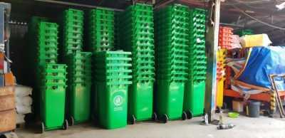 Cung cấp thùng rác 120 lít 240 lít 660 lít giá rẻ- thùng rác môi trường