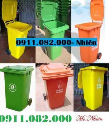 Đồng tháp- Bán thùng rác giá rẻ- thùng rác y tế, 120 lít, 240 lít - lh 0911.082.000