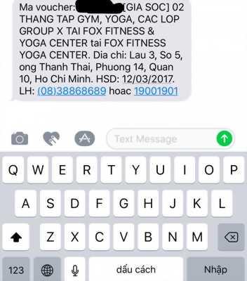 02 Tháng Tập Gym, Yoga, Các Lớp Group X Tại Fox Fitness & Yoga Center