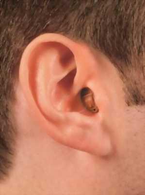 Máy trợ thính trong tai nhỏ gọn