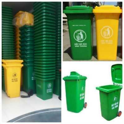 Nơi cung cấp thùng rác 120 lít 240 lít 660 lít giá rẻ vĩnh long-0911082000 sỉ lẻ thùng rác