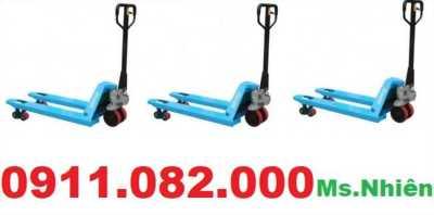 Thanh lý xe nâng tay thấp 2500kg giá rẻ tại vĩnh long hàng mới 100%