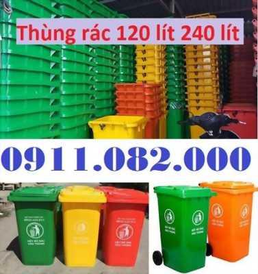 Thùng rác thanh lý giá rẻ- thùng rác 120 lít 240 lít 660 lít- 0911.082.000