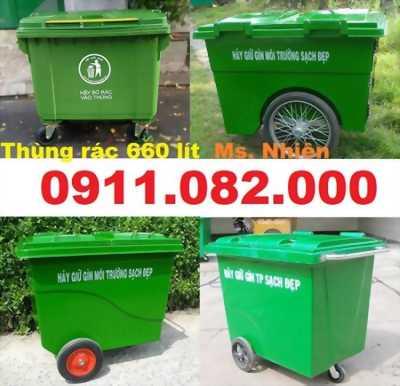 Cần xả kho giá rẻ thùng rác nhựa- thùng rác 120 lít 240 lít giá chuyên sỉ